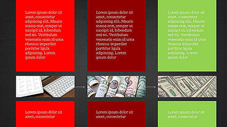 Grid Layout Presentation Template, Slide 13, 04094, Presentation Templates — PoweredTemplate.com