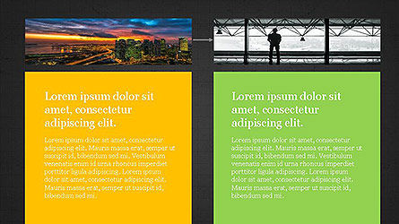Grid Layout Presentation Template, Slide 14, 04094, Presentation Templates — PoweredTemplate.com