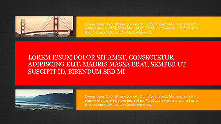 Grid Layout Presentation Template, Slide 15, 04094, Presentation Templates — PoweredTemplate.com