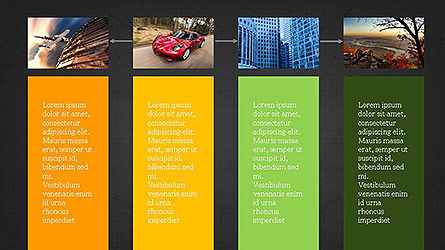 Grid Layout Presentation Template, Slide 16, 04094, Presentation Templates — PoweredTemplate.com