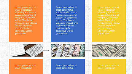 Grid Layout Presentation Template, Slide 5, 04094, Presentation Templates — PoweredTemplate.com