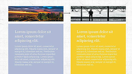Grid Layout Presentation Template, Slide 6, 04094, Presentation Templates — PoweredTemplate.com