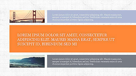 Grid Layout Presentation Template, Slide 7, 04094, Presentation Templates — PoweredTemplate.com