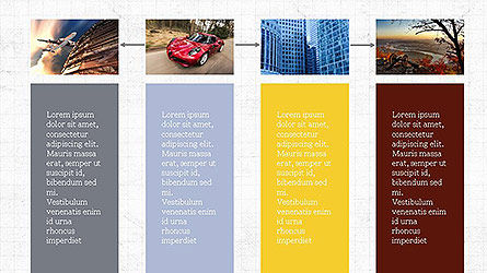 Grid Layout Presentation Template, Slide 8, 04094, Presentation Templates — PoweredTemplate.com