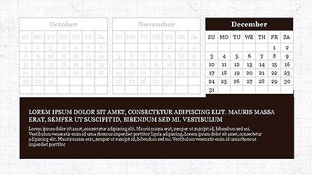 PowerPoint Calendar Template, Slide 12, 04095, Timelines & Calendars — PoweredTemplate.com