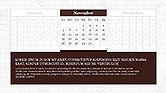 PowerPoint Calendar Template#11