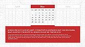 PowerPoint Calendar Template#5