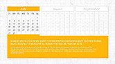 PowerPoint Calendar Template#7