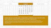 PowerPoint Calendar Template#8
