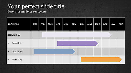 Gantt Chart Template Slide 13