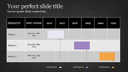 Gantt Chart Template Slide 15
