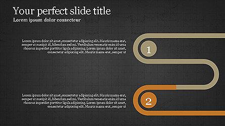 Round Infographic Concept Slides, Slide 10, 04098, Shapes — PoweredTemplate.com