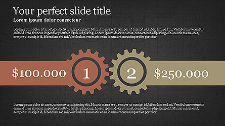 Round Infographic Concept Slides, Slide 11, 04098, Shapes — PoweredTemplate.com