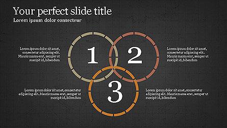 Round Infographic Concept Slides, Slide 12, 04098, Shapes — PoweredTemplate.com