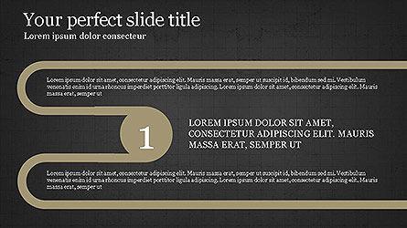 Round Infographic Concept Slides, Slide 13, 04098, Shapes — PoweredTemplate.com