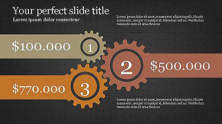 Round Infographic Concept Slides, Slide 14, 04098, Shapes — PoweredTemplate.com
