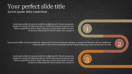 Round Infographic Concept Slides, Slide 16, 04098, Shapes — PoweredTemplate.com