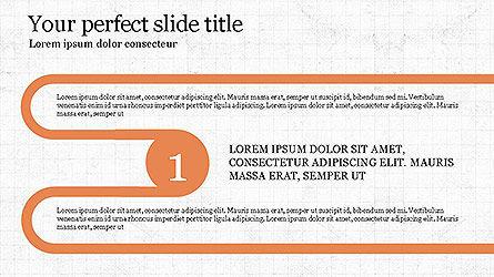 Round Infographic Concept Slides, Slide 5, 04098, Shapes — PoweredTemplate.com