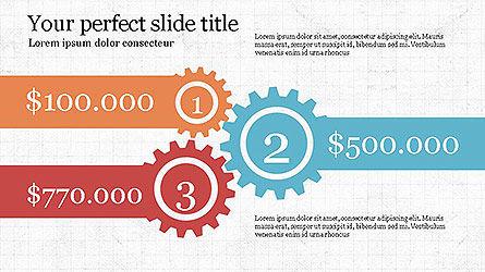 Round Infographic Concept Slides, Slide 6, 04098, Shapes — PoweredTemplate.com