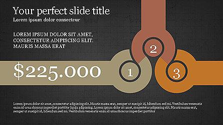 Round Infographic Concept Slides, Slide 9, 04098, Shapes — PoweredTemplate.com