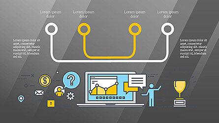 Commerce Presentation Template, Slide 16, 04103, Presentation Templates — PoweredTemplate.com