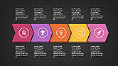 Sequential Process with Icons Presentation Template#15