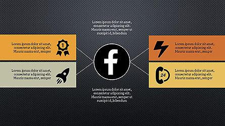 Social Networks Presentation Template Slide 14