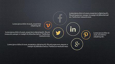 Social Networks Presentation Template Slide 16