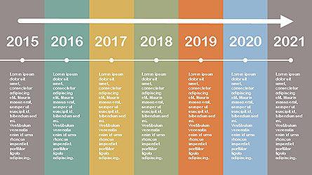 Flat Design Timeline Slide 2