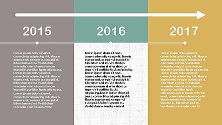 Flat Design Timeline Slide 6