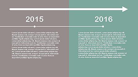 Flat Design Timeline Slide 7
