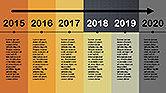 Flat Design Timeline#10