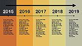 Flat Design Timeline#11