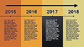 Flat Design Timeline#12