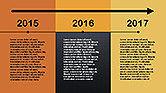 Flat Design Timeline#13