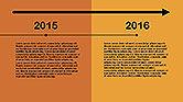 Flat Design Timeline#14