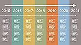 Flat Design Timeline#2