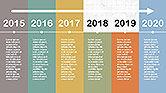Flat Design Timeline#3