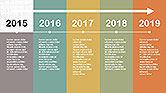 Flat Design Timeline#4