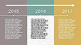 Flat Design Timeline#6