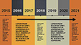 Flat Design Timeline#8
