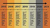 Flat Design Timeline#9