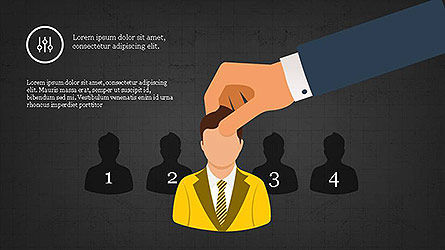 Recruitment Presentation Template, Slide 11, 04112, Presentation Templates — PoweredTemplate.com