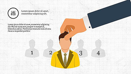 Recruitment Presentation Template, Slide 3, 04112, Presentation Templates — PoweredTemplate.com
