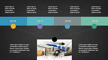 Timeline Presentation Concept, Slide 13, 04113, Timelines & Calendars — PoweredTemplate.com