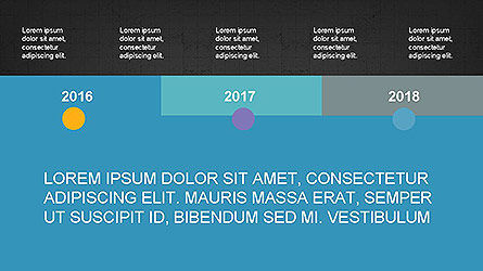 Timeline Presentation Concept, Slide 14, 04113, Timelines & Calendars — PoweredTemplate.com