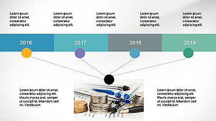 Timeline Presentation Concept, Slide 5, 04113, Timelines & Calendars — PoweredTemplate.com