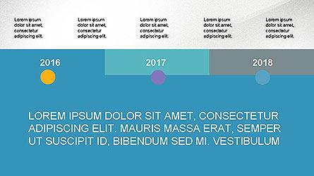 Timeline Presentation Concept, Slide 6, 04113, Timelines & Calendars — PoweredTemplate.com