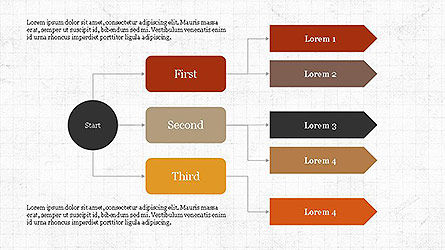 Flow Charts: Logical Flow Chart Template #04114