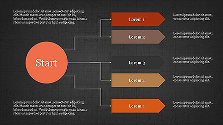 Logical Flow Chart Template Slide 14